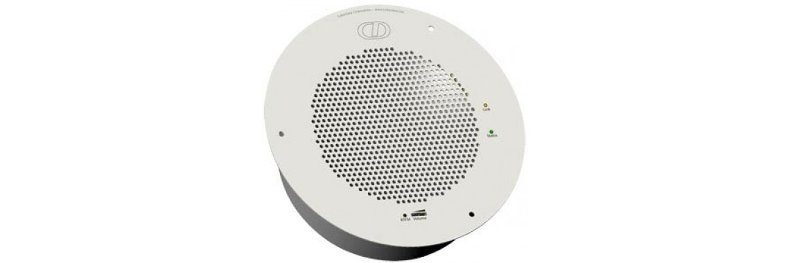 Syn-Apps Ceiling Mounted Speaker - Signal White