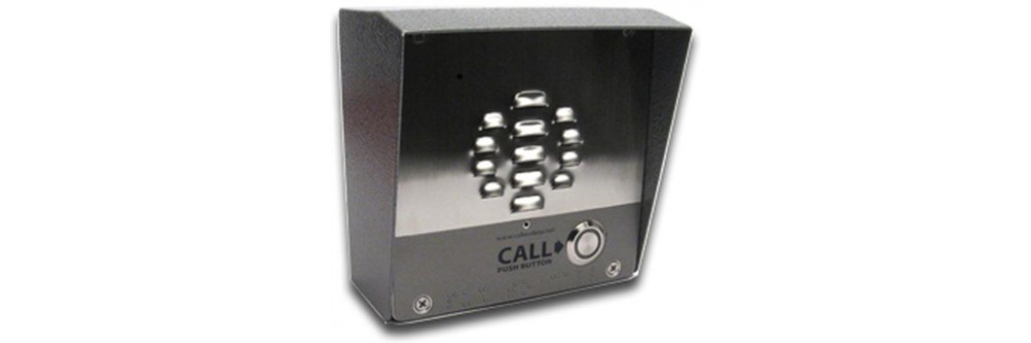 Single Button VoIP Intercom/Access Controller PoE Powered with I