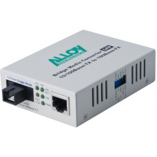 100Mbps Standalone/Rackmount Media Converter 100Base-TX to 100Base-FX 1310nm WDM, 80Km