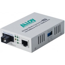 100Mbps Standalone/Rackmount Media Converter 100Base-TX to 100Base-FX 1550nm WDM, 40Km