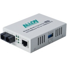100Mbps Standalone/Rackmount Media Converter 100Base-TX to 100Base-FX (SC), 1550nm, 20Km
