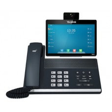 16 Line IP Full-HD Video Phone, 8'' 1280 x 800 colour touch screen, HD voice, Dual Gig Ports, Bluetooth, WiFi, USB, HDMI, 29 DSS keys, Power Adapter Included