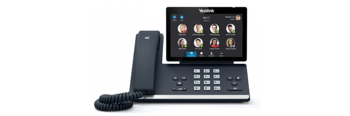 Yealink SIP-T56A Skype for Business Edition (Power Adapter &