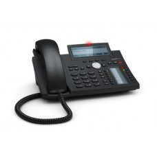 12 Line IP Phone. Hi-Res display with backlight, Gigabit, USB, IPv6, PoE