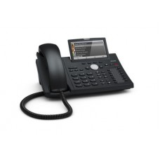 12 Line IP Phone. 4.3'' Hi-Res display with backlight, Gigabit, USB, BT, IPv6, PoE